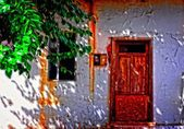 Turkish village house — Stock Photo