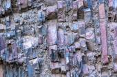 Sedimentary rock layers — Stock Photo