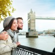 Couple by Tower Bridge, London — Stock Photo #54891399