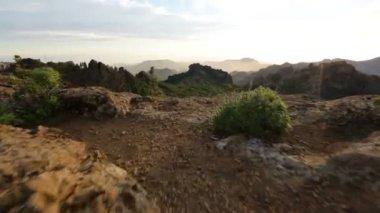 Gran Canaria landscape — Stock Video
