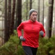 Man running in forest — Stockfoto #55353833