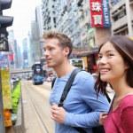 People walking in Causeway Bay — Stock Photo #62143439