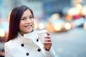 Professional business woman in New York — Stock Photo
