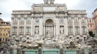 Famous Italian landmark — Stock Video