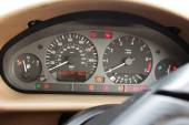 Speedometer, tachometer gauges and control lights — Stock Photo