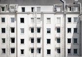 Facade of a building — Stock Photo