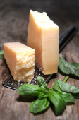 Parmesan cheese italian food — Stock Photo