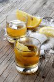 Tequila liquor — Stock Photo