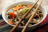Chinese oriental soup — Stock Photo