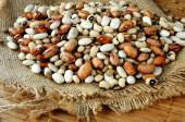 Lentils seed and legume ingredients — Stock Photo
