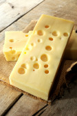 Emmental cheese gourmet france — Photo