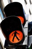City traffic lights and signals — Стоковое фото