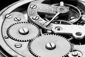 Antique clock machinery — Stock Photo