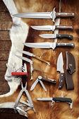 Hunting knives — Stock Photo