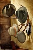 Hunting hats — Stock Photo