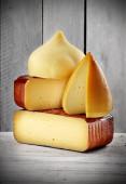 Spanish artisan cheese — Stock Photo