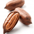 Pecan nuts siolated — Stock Photo #64606225