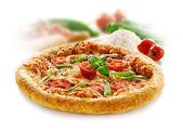 Sisilian pizza isolated — Stock Photo