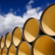 Large pipes storage — Stock Photo #76220023