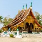 ������, ������: Colorful Wat Xieng thong temple in Luang pra bang Loas