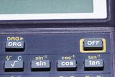 Szczegóły kalkulator — Zdjęcie stockowe