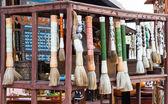 Antique Chinese brush — Stock Photo