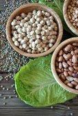 Different legumes — Foto Stock