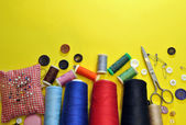 Sewing objects — Stock Photo