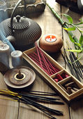 VARIOUS TYPES OF INCENSE  — Stock Photo