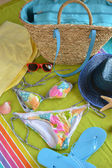 Accessories to go to the beach — Stock Photo