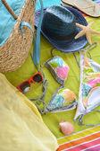 Příslušenství k jít na pláž — Stock fotografie