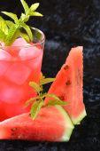 Watermelon Mojito — Stock Photo