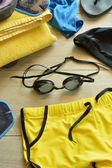 Accessories for swimming pool — Stock Photo