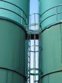 Industrial Storage Vats — Stock Photo