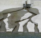 现代喷泉 — 图库照片