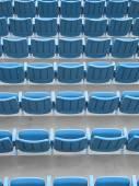 Empty Mobile Seats — Stock Photo