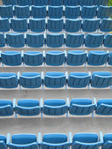 Empty Mobile Seats — Stock Photo