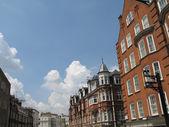Charming British Street — Stockfoto