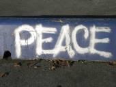 Peace Graffiti — Stock Photo