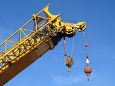 Wrecking Ball Crane — Foto de Stock