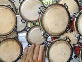 Drum Skins — Foto Stock