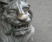 Lion Sculpture — Stock Photo
