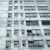 Building paint job — Stock Photo