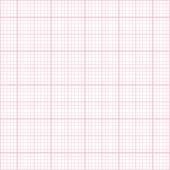 Seamless pink millimeter paper pattern — Stock Vector