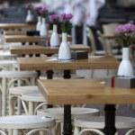 Sofia Cafe Tables Street — Stock Photo #54805033