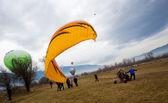 Bulgaria Razlog Balloon Fest — Stock Photo