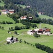 Idyllic Bavarian Landscape, Village And Zugspitze — Stock Photo #60475153