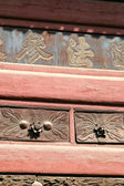 Old Fashioned Chinese Cabinet — Stock Photo