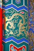 Peking Zakázané město detail vzoru architektury — Stock fotografie