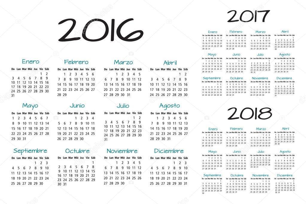 Mostrar Calendario 2016   Calendar Template 2016